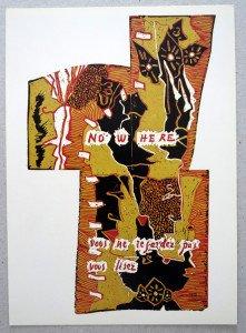 2011 Carré d'Art recto  (cadeau de l'artiste)