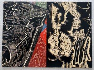 2016 Galerie l'Antilope - recto  (cadeau de l'artiste)