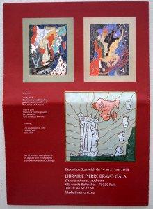 2016 Galerie Pierre Bravo Gala - dos