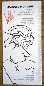 Flyer Revue Jalouse Pratique 1993