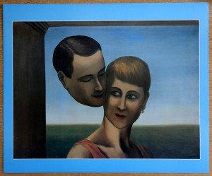 «les amants III», offset d'après l'original de 1928 format 49x60