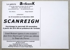 2009 Galerie ArtScenik - verso