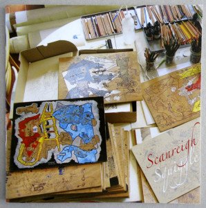 2011 Squiggle  (cadeau de l'artiste)