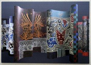 2013 - Stations du noir - Galerie Art Image -  (cadeau de l'artiste)