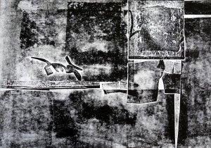 anonyme monochrome sur papier dessin