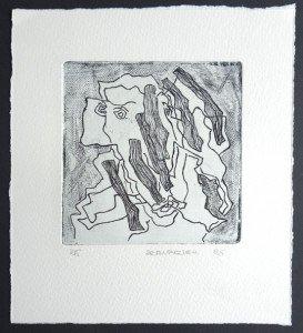 gravure format bassin 12x12 sur 20.5x19.5