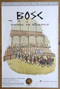 Affiche Voyage en Boscavie format 61x40