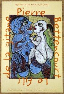 2001 pierre Bettencourt affiche 60x40