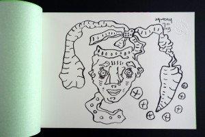 dessin original sur Arches - Tampon à sec Scanreigh