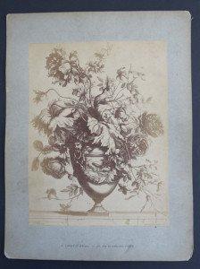 sur cartonnette Nicolas de Poilly format 34x26