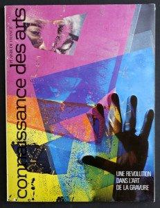 couverture connaissance des arts mai 1976