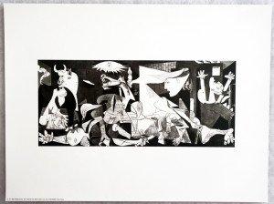 Guernica format 13x30 sur 30x40