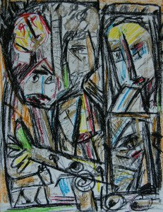 Pastel sur papier Format 65x50 - 1807 du catalogue raisonné
