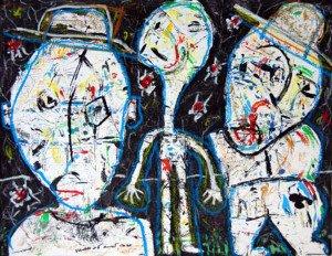 1999 - Acrylique sur papier Format 50x65