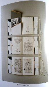 détail livre d'artiste Heyst